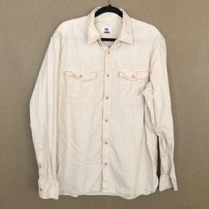 Old Navy Regular Fit Long Sleeve Button Down Shirt
